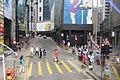 HK CWB 銅鑼灣 Causeway Bay 禮頓道 Leighton Road Caroline Centre Yun Ping Road China Taiping Tower yellow lines crossway visitors April 2017 IX1.jpg