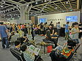 HK HKCEC Wan Chai 蘇富比 Sotheby's Preview 拍賣 預展 counter waiting room visitors Oct-2013.JPG