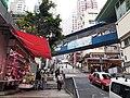 HK SYP 西環 Sai Ying Pun 正街 Centre Street market footbridge 1150am April 2020 SS2 03.jpg