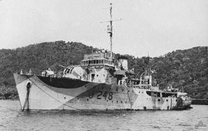 HMAS Shepparton (J248) - HMAS Shepparton