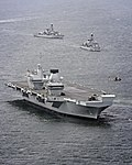 HMS Queen Elizabeth conducts vital system tests off the coast of Scotland MOD 45162787.jpg