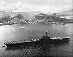 HMS Victorious (R38) at anchor at at Noumea, New Caledonia, in 1943.jpg