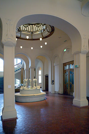 Osthaus-Museum Hagen - Entrance hall of the villa