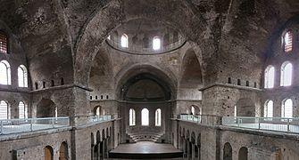Photo de l'intérieur d'un bâtiment