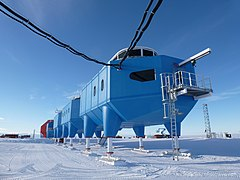 Halley VI Antarctic Research Station - Science modules.jpg