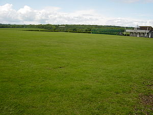 Broadhalfpenny Down - Image: Hambledon CC Pitch