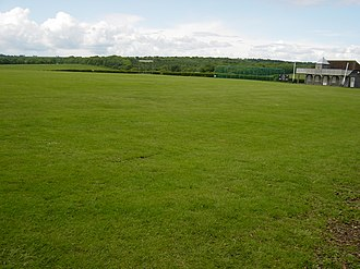 Hampshire County Cricket Club -  Broadhalfpenny Down, the original ground of the Hambledon Club