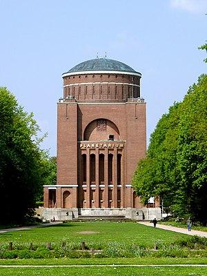 Winterhude - Planetarium in the city park (2003).