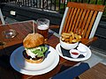 Hamburger and fries - Grand Union, Lambeth North, London.jpg