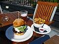 Hamburger and fries - Grand Union, Lambeth North, London.jpg