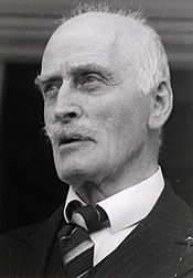 Knut Hamsun in July 1939, at the age of 79.