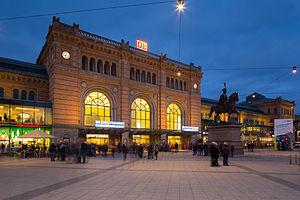 Hannover main station Ernst-August-Platz Mitte Hannover Germany 03