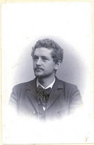 Harald Bergstedt - Harald Bergstedt, ca. 1910.