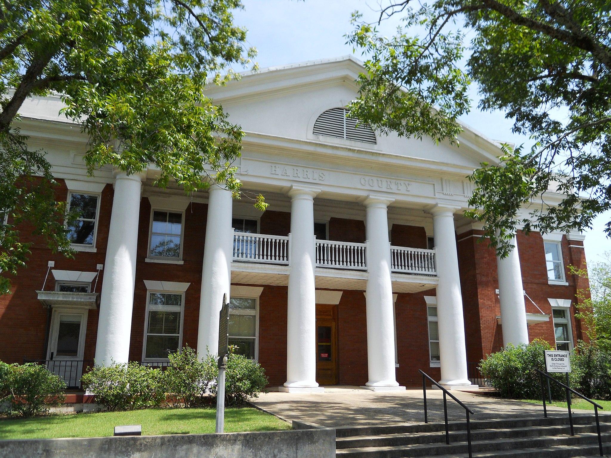 Harris County Georgia Courthouse