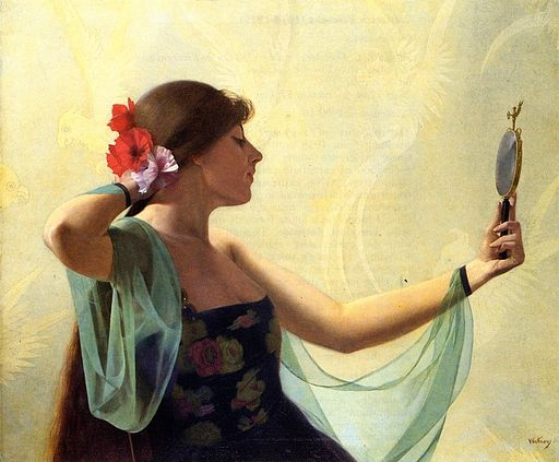 Harry-watrous-girl-with-the-mirror