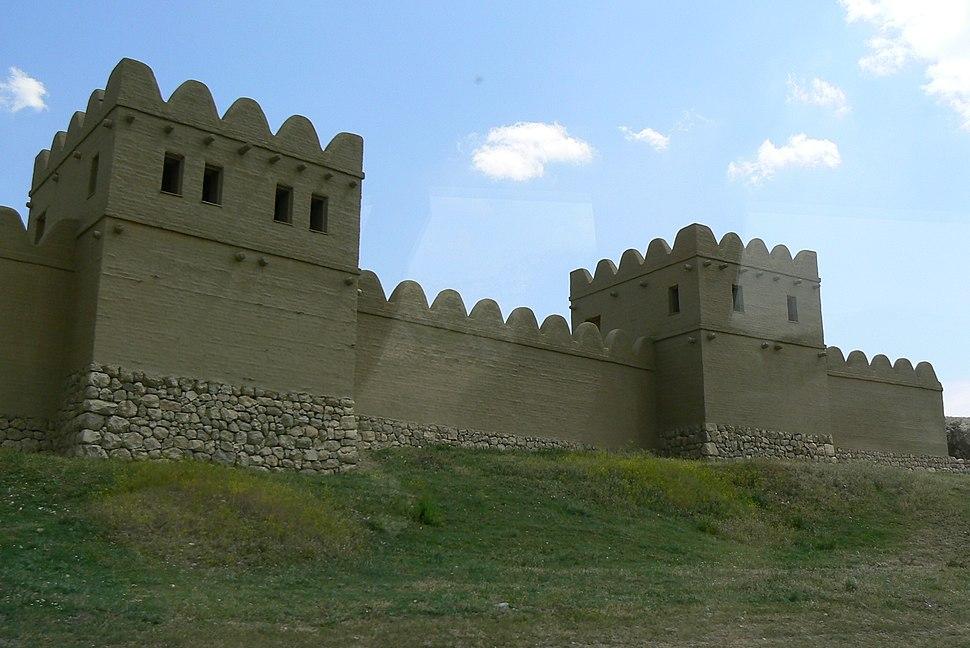 Wall of Hittite Capital Hattusa (reconstruction)
