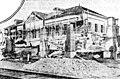Haverhill station during track raising, 1905.jpg