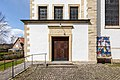 Havixbeck, Hohenholte, St.-Georg-Stiftskirche, Eingang -- 2021 -- 7259.jpg