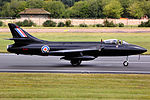 Hawker Hunter - RIAT 2011 (24497376556).jpg