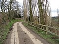 Hazelhurst Lane approaching Povey Farm - geograph.org.uk - 737207.jpg