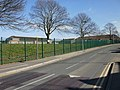 Heather Road climbs past the edge of St Julians School, Newport - geograph.org.uk - 1736850.jpg