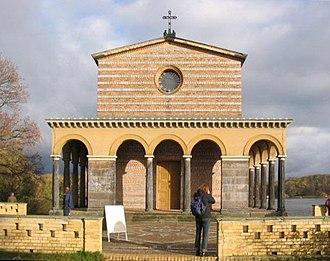 Church of the Redeemer, Sacrow - Image: Heilandskirche Sacrow Gesamt