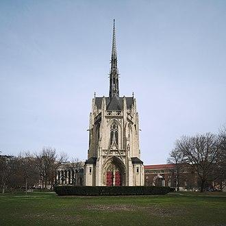 Charles Klauder - Image: Heinz Memorial Chapel, exterior (crop)