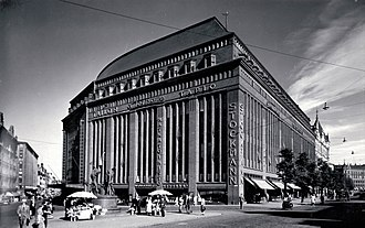 Stockmann, Helsinki centre - The department store in 1938.