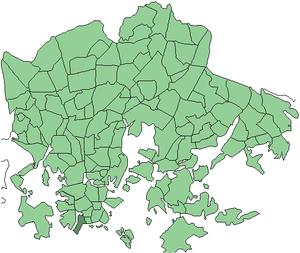 Hernesaari - Image: Helsinki districts Munkkisaari