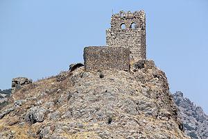 Amouda - Image: Hemite Kalesi 1