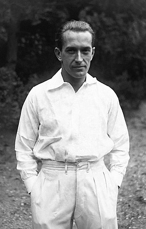Henri Cochet - Cochet in 1929