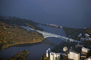 Henry Hudson Bridge - Aerial view
