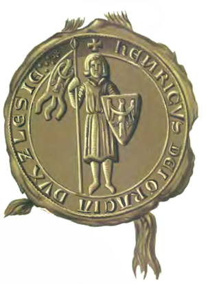 Henry III the White - Seal of Duke Henry III