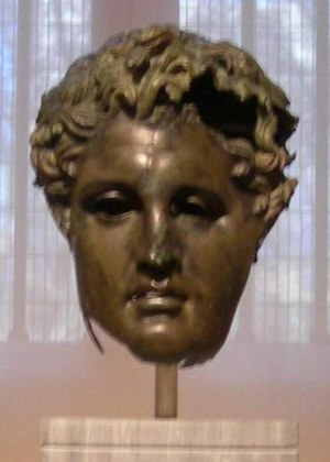 Demetrius I of Macedon - Image: Hephaistion Prado bronze head