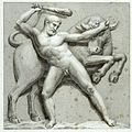 Heracles and the Cretan Bull.JPG
