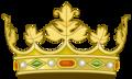 Heraldic Royal crown of Navarre (1234-1580).png