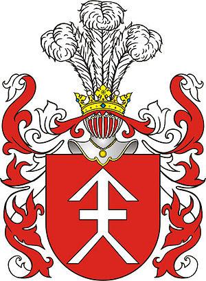 Albert Wijuk Kojałowicz - Kościesza coat of arms