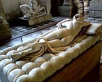 Hermafrodita durmiendo, copia romana del siglo II de un original griego. Restaurado por Bernini en 1620. París, Museo del Louvre
