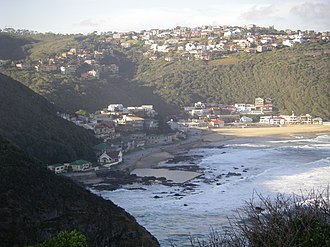 Herolds Bay - View from a lookout point south west of the town.