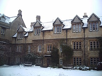 Evelyn Waugh - Hertford College, Oxford; Old Quadrangle