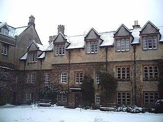 Evelyn Waugh - Hertford College, Oxford; Old Quadrangle