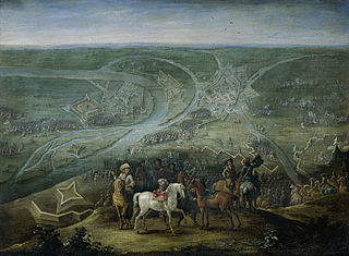 The French army at Rheinberg, 2-6 June 1672