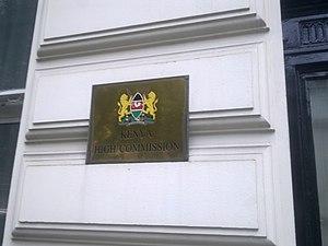 High Commission of Kenya, London - Image: High Commission of Kenya in London 2