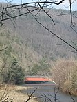 Hillsgrove Covered Bridge from PA 87 in 2012.jpg