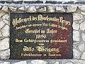 Hinweisschild am Wasserwerk der Mönchswalder Bergbaude.jpg