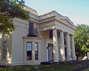 West Side Historic District (Saratoga Springs, New York) - Hiram Charles Todd House