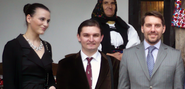 His Royal Highness Prince Nicolae of Romania and His Excellency Noble Ionuţ Silaghi de Oaş in 2014