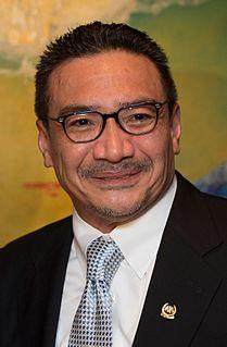 Hishammuddin Hussein Malaysian politician