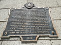 Historical marker of St. Sebastian Church in Lumban, Laguna.jpg