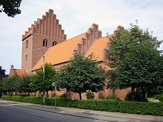 Højdevang Church - Image: Hoejdevangskirken Copenhagen